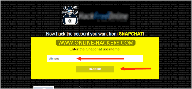 Hacked Snapchat for iPhone without jailbreak