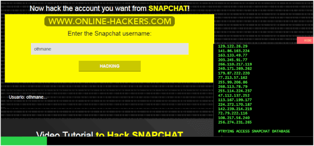 Snapchat hacker, everyone must know