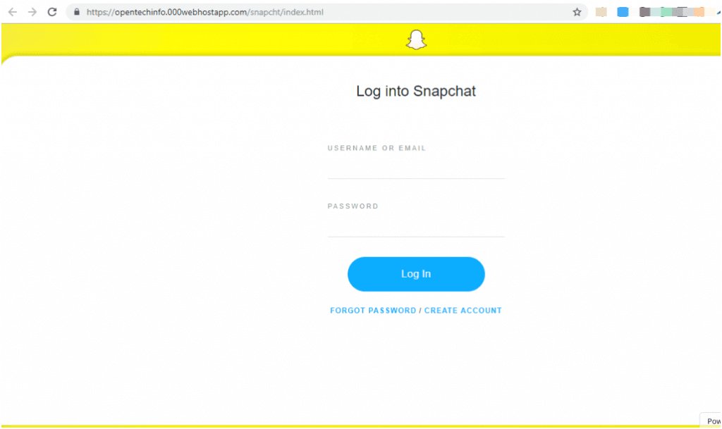 Hacker Snapchat is required