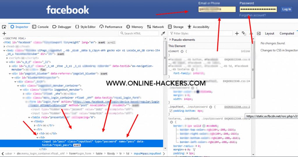 كيفية معرفة كلمة سر الفيس بوك لشخص اخر
