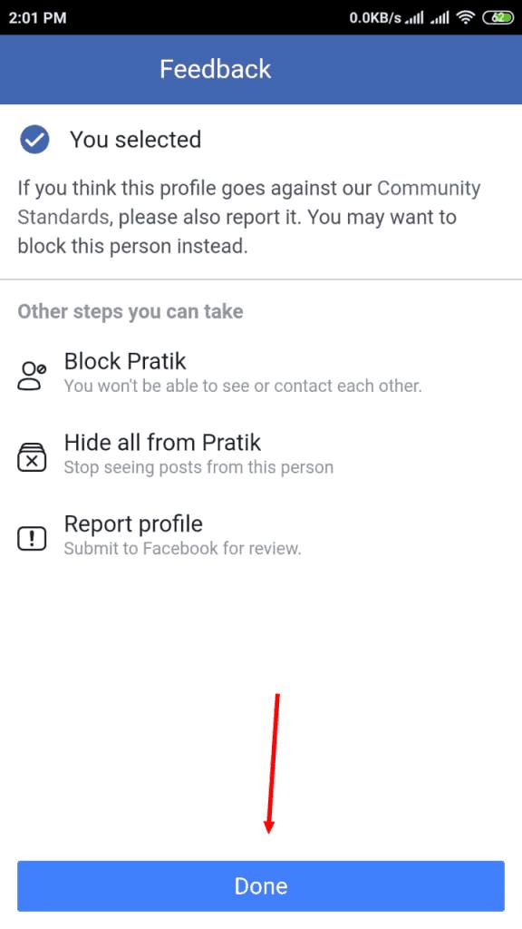 تطير حساب فيس بوك 2019