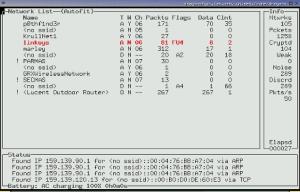 برنامج AirSnort اختراق الشبكات للكمبيوتر