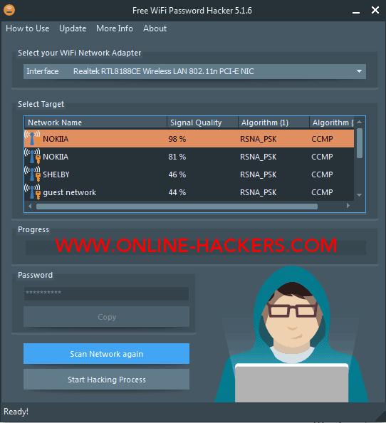 استخدام تحميل برنامج wifi password hacker pro للكمبيوتر