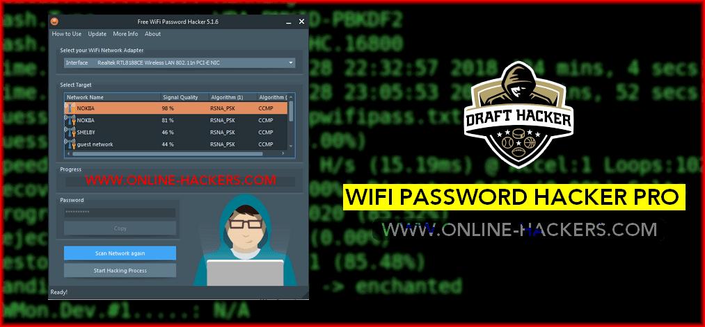 تحميل برنامج wifi password hacker pro للكمبيوتر