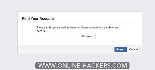 كيفية اختراق فيسبوك شخص اخر