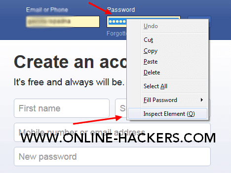 كيفية اختراق حساب فيسبوك