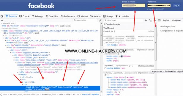 كيفية اختراق فيسبوك