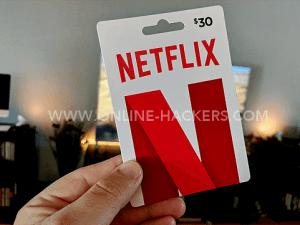 بطاقات هدايا netflix مجانا